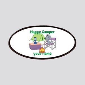 Custom Happy Camper Mouse Patches