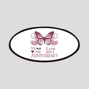 1st Wedding Aniversary (Butterfly) Patches