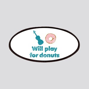 Will Play for Donuts Patch