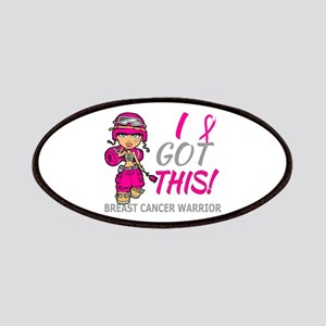 Combat Girl 2 Breast Cancer HotPink Patches