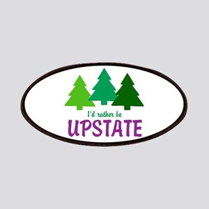 I'D RATHER BE UPSTATE Patch
