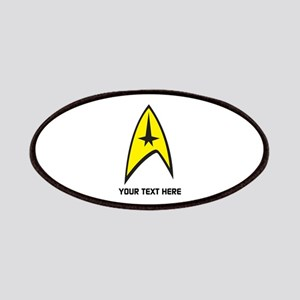 Star Trek Symbol Personalized Patch