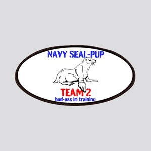Navy Seal-pup Patches