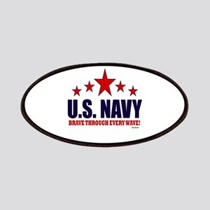 U.S. Navy Brave Through Every Wave Patches