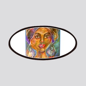 Exotic Woman art Patch