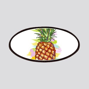 Cute PineApple Illustration Patch