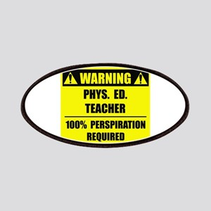 WARNING: P.E. Teacher Patches
