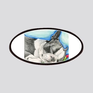 Sleepy Boston Terrier Patch