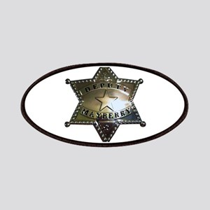 Mayberry Deputy Badge Patches