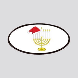 Hanukkah And Christmas Patches