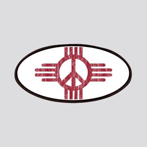 New Mexico Peace Sign Patches
