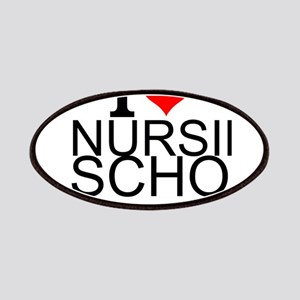 I Love Nursing School Patch