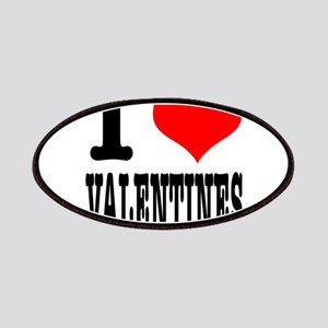 I Heart (Love) Valentines Patches