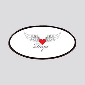 Angel Wings Diya Patches