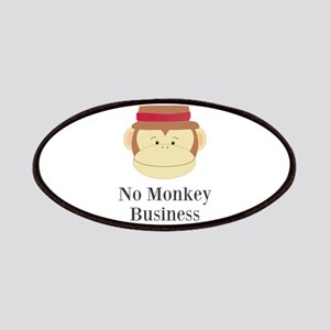 No Monkey Business Patches