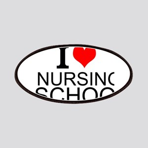 I Love Nursing School Patches