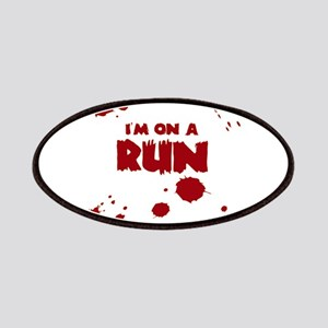 I'm on a run Patch