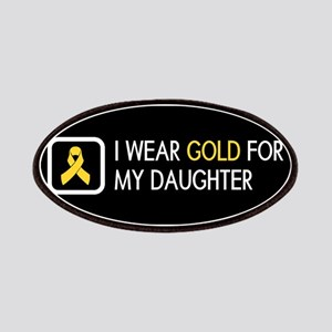Childhood Cancer: Gold For My Daughter Patch