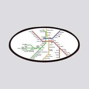 Boston Rapid Transit Map Subway Metro Underg Patch