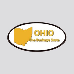 State - Ohio - Buckeye State Patches