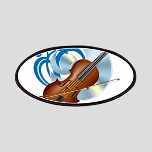 Fashion musical violin Patch