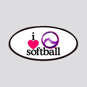 I Love Softball/Ball Patch