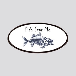 Fish Fear Me Patch