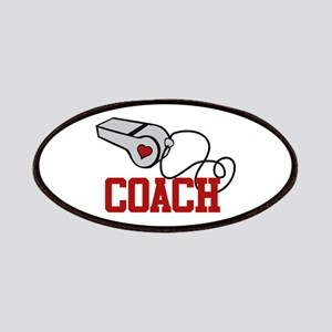 Coach Whistle Patches