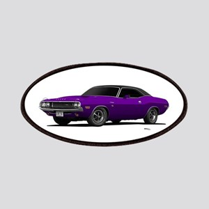 1970 Challenger Plum Crazy Patches