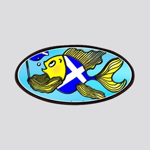 Happy St. Andrews Day Patches