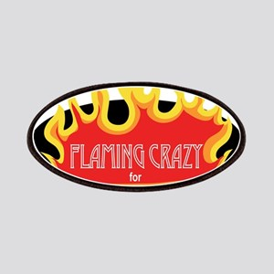 Flaming Crazy for Glass Patches