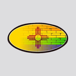 Rainbow Wall New Mexico Patch