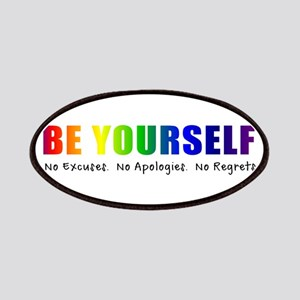 Be Yourself (Rainbow) Patches