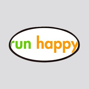 run-happy-fut-green-orange Patches