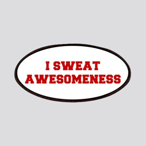 I-SWEAT-AWESOMENESS-FRESH-RED Patches