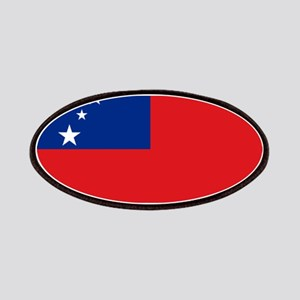 Samoan flag Patch