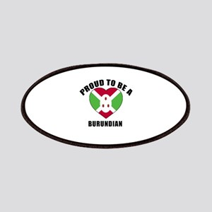 Burundian Patriotic Designs Patch