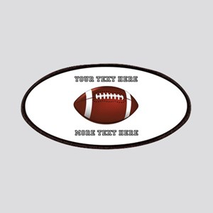 Personalized Football Patch