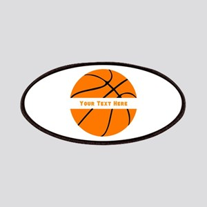 Basketball Personalized Patch