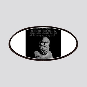 It Would Be Better For Me - Socrates Patch
