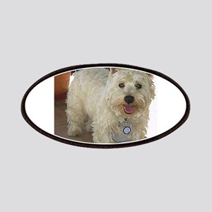 west highland white terrier full Patch