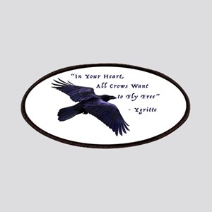 All Crows Want to Fly Free Patch