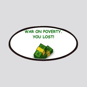 war on poverty Patches