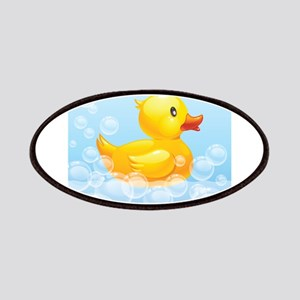 Duck in Bubbles Patches