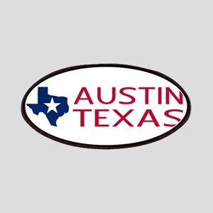 Texas: Austin (State Shape & Star) Patch