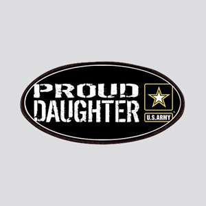 U.S. Army: Proud Daughter (Black) Patch