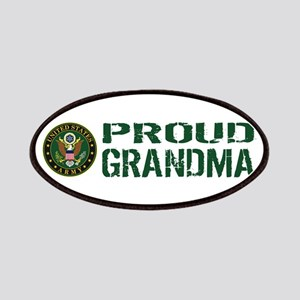 U.S. Army: Proud Grandma (Green & White) Patch