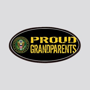 U.S. Army: Proud Grandparents (Black & Gold) Patch