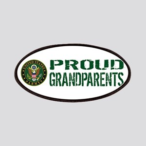 U.S. Army: Proud Grandparents (Green & White Patch