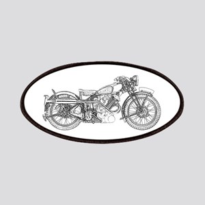 3f2690f0799d Vintage Motorcycle Patches - CafePress